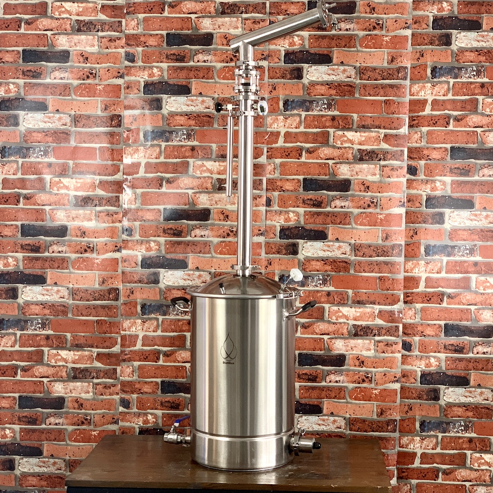 "Moonshine still 55l tank and 2""(51mm)OD64mm  Reflux Column for distillation  Stainless Steel 304  . Vodka  Moonshine