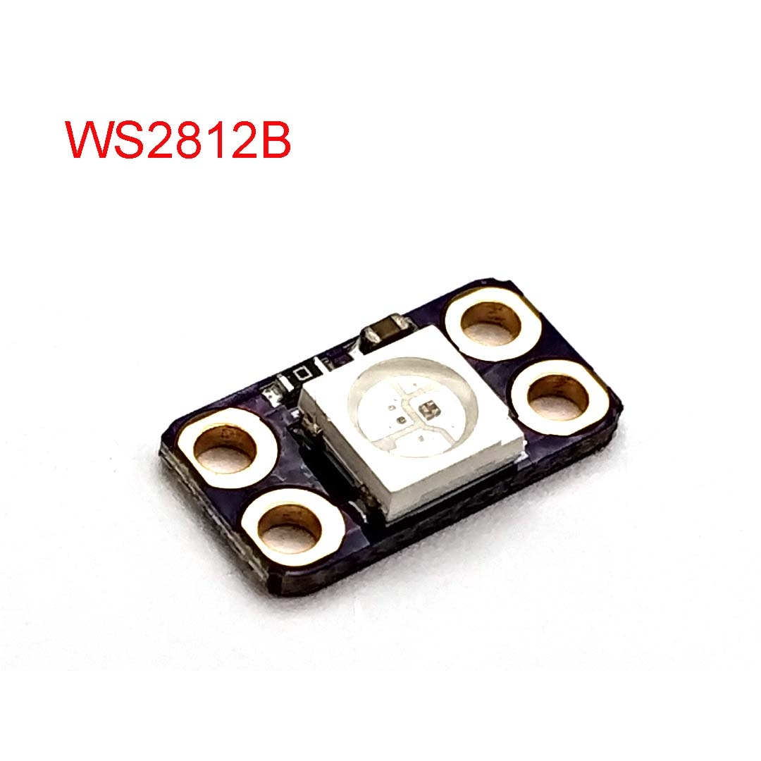 The Latest Full-color Driver WS2812B RGB LED Lights 4 Pin Module Development Board