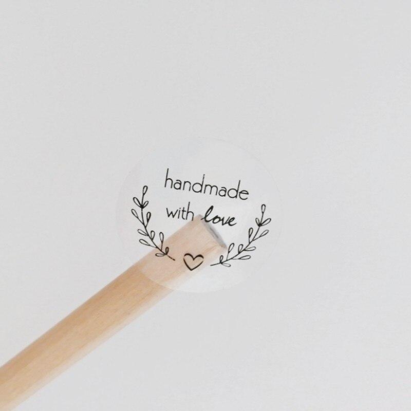 160 шт./лот Kawaii круглая гирлянда ручной работы с любовью наклейка этикетка Kawaii Скрапбукинг наклейки дневник DIY блокнот школьные принадлежнос...