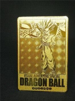 цена 1pcs/set Super Dragon Ball Z Heroes Battle Metal Card Ultra Instinct Goku Vegeta Game Collection Cards Free Shipping онлайн в 2017 году