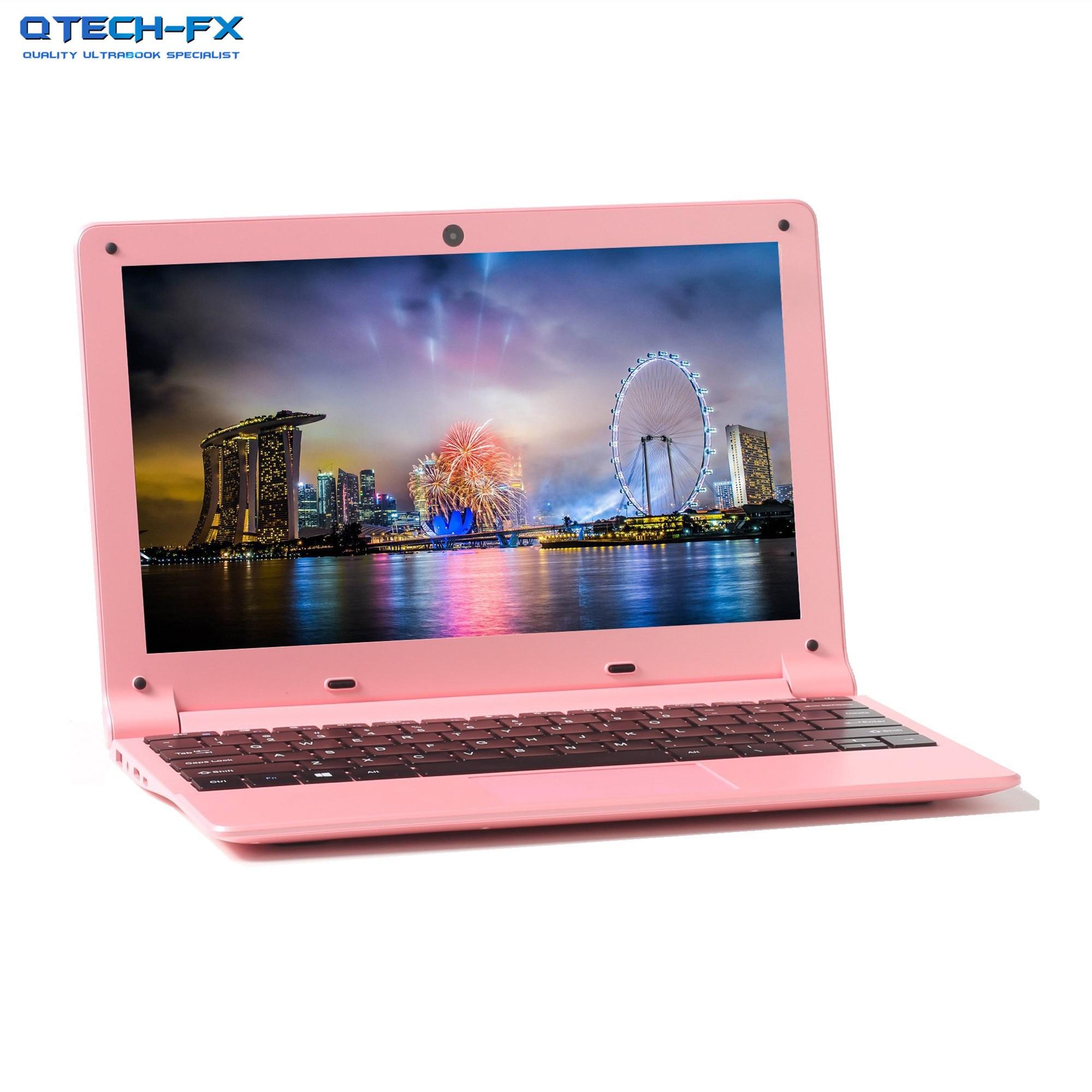 "Fast SSD 256GB 12"" Ultrabook CPU intel Quad Core Windows 10 Business School Pink Black Arabic AZERTY Spanish Russian Keyboard|Laptops| |  - title="