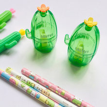 Kawaii Cactus Pen Sharpeners Cute Single Hole Pencil Sharpener For Girls Gifts Back To School Supplies Korean Stationery(China)