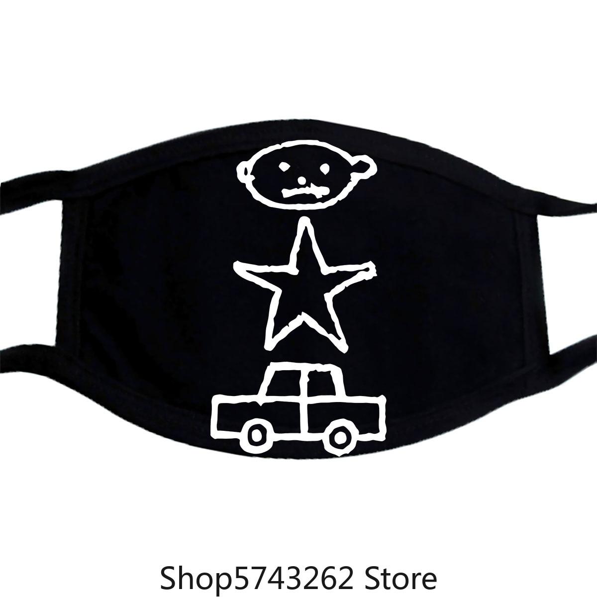 Mask U2 Zoo Tv Tour 1991 Streetwear Size S-3Xl Washable Reusable Mask For Unisex Black