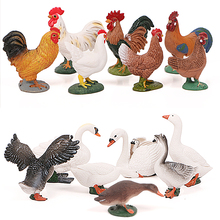 Simulation Farm Poultry Animal model Chicken Fowl Duck Goose Rooster Action