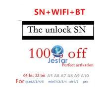 Sn número de série para ipad mini 2 3 4 ipad ar 1 2 2019 2018 pro10.2 sn número de série wifi bt endereço para ipad icloud desbloquear