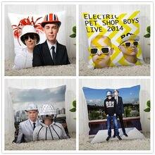 Pillow-Case Pet-Shop Decorative Square Custom Polyester Zipper Boys 40--40cm