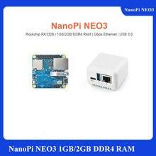 Nanopi M4-2GB/m2v2 cnc caso de metal combo rockchip friendlyelec rk3399 soc 2.4g & 5g wifi de banda dupla + bluetooth 4.1 ubuntu android