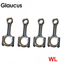 4pcs WL WLT engine connecting rod conrod for Ford Endeavour/Ranger Mazda B2500 2.5D 2.5TD 2499CC 1999-  WL54-11-210 WL5411210