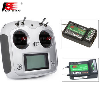 FS-I6S,FlySky FS-I6S Remote Controller 2.4G 6ch Radio Transmitter+IA6b/IA10B Receiver for RC Quadcopter Multirotor Drone free shipping mkron 2 4ghz dsm2 compatible 6ch programmable transmitter receiver for rc drone page 5 page 1
