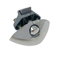 Diameter 20mm Camper Car Half-moon Push Lock RV Caravan Drawer Latch Button Lock