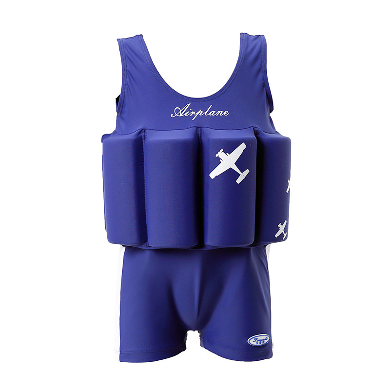 Children's Baby Swimwear For Girls Kids Swimsuit Bathing Suit Toddler Beach Swim Boys Baby Swimwear One-Piece Buoyancy Swimwear