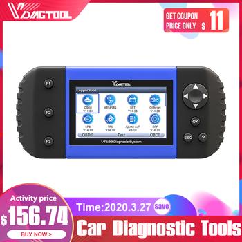 VDIAGTOOL VT600 skaner samochodowy OBD2 narzędzie silnik ABS SRS EPB serwis olejowy Reset kodowanie wtryskiwacza diagnostyka samochodu OBDII tanie i dobre opinie VT600 OBD2 Scanner newest Poduszka powietrzna skanowania narzędzia i symulatory latest Car Diagnostic Tools ABS SRS Airbag
