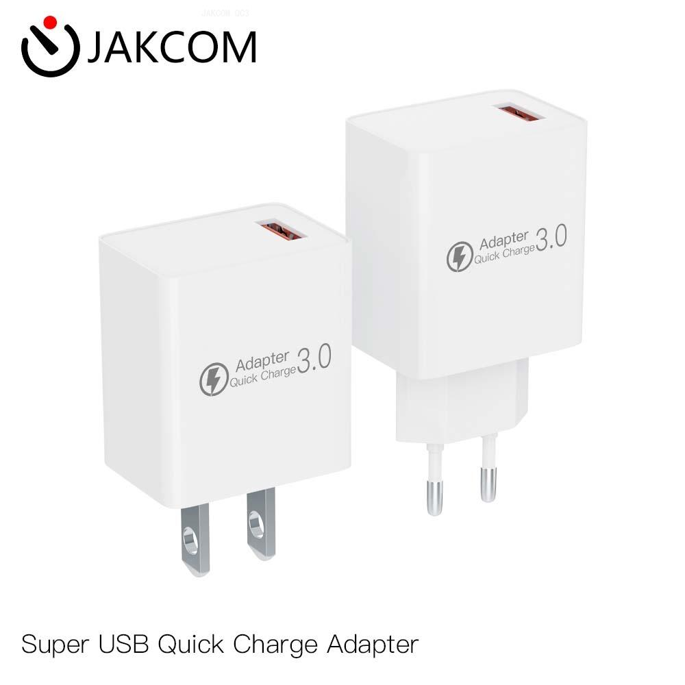JAKCOM QC3 Super USB Quick Charge Adapter Best gift with find x car charger for mobile phone lighters sanitizers wireless image
