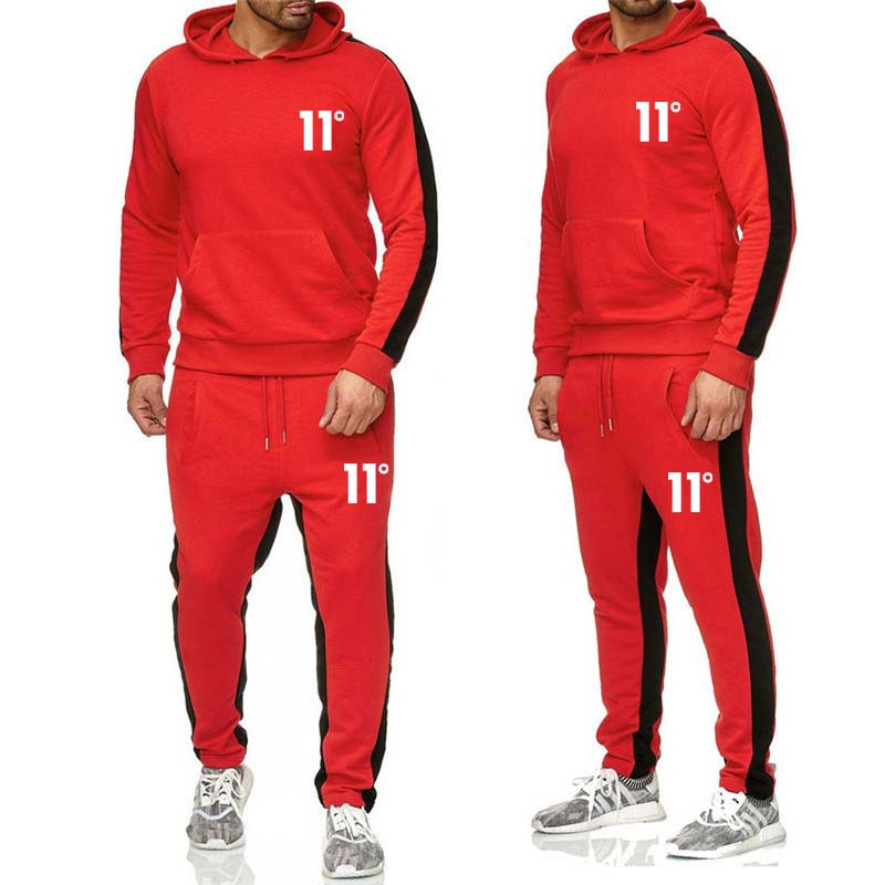 2019  Brand Sporting Suit Men Suit Men Hoodies Sets Mens Sportswear Jogger Suit Male Tracksuit Sets