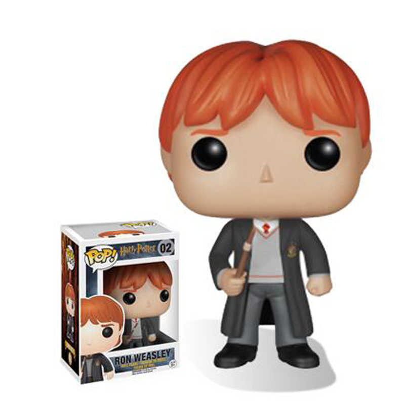 Funko Pop 02 Série Harry Potter Ron Weasley Action Figure Toys 10cm