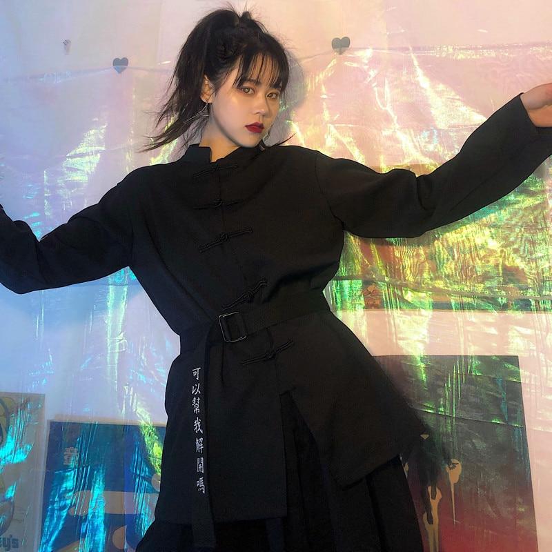 Japanese Kimono Traditional Black Kimono Blouse Robe Tang Suit Women Japanese Yukata Dress Kimono Cosplay Asian Clothes SL1337