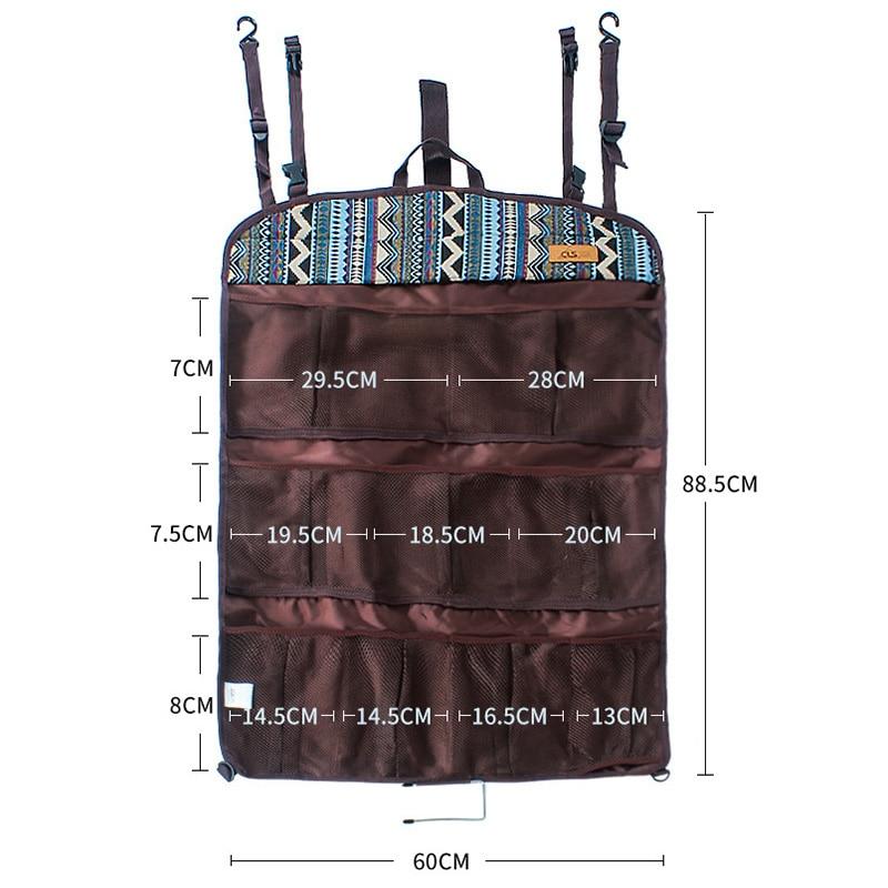 Горячая подвесная сумка для хранения портативная многофункциональная для дома настенная дверь открытый кемпинг MVI-ing