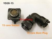 Original novo 100% YD28-15 YD28-4 conector à prova dwaterproof água plugue de ar servo motor