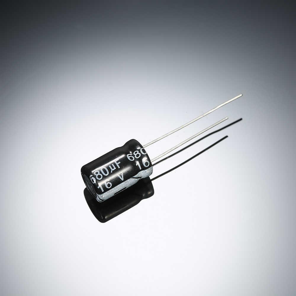 900pcs 30 Values 0.1uF ~ 1000uF Electrolytic Capacitors Assortment Kits