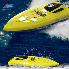 4 Channels 2.4Ghz 25KM/H High Speed Remote Control Boat Electric  RC Racing Boat Waterproof Speedboat Toys For Kids Xmas Gifts цена