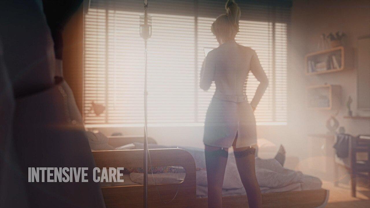 【3D同人/全动态】天使的银O诊疗:Intensive Care 完整HD版【吊带黑丝/新作】
