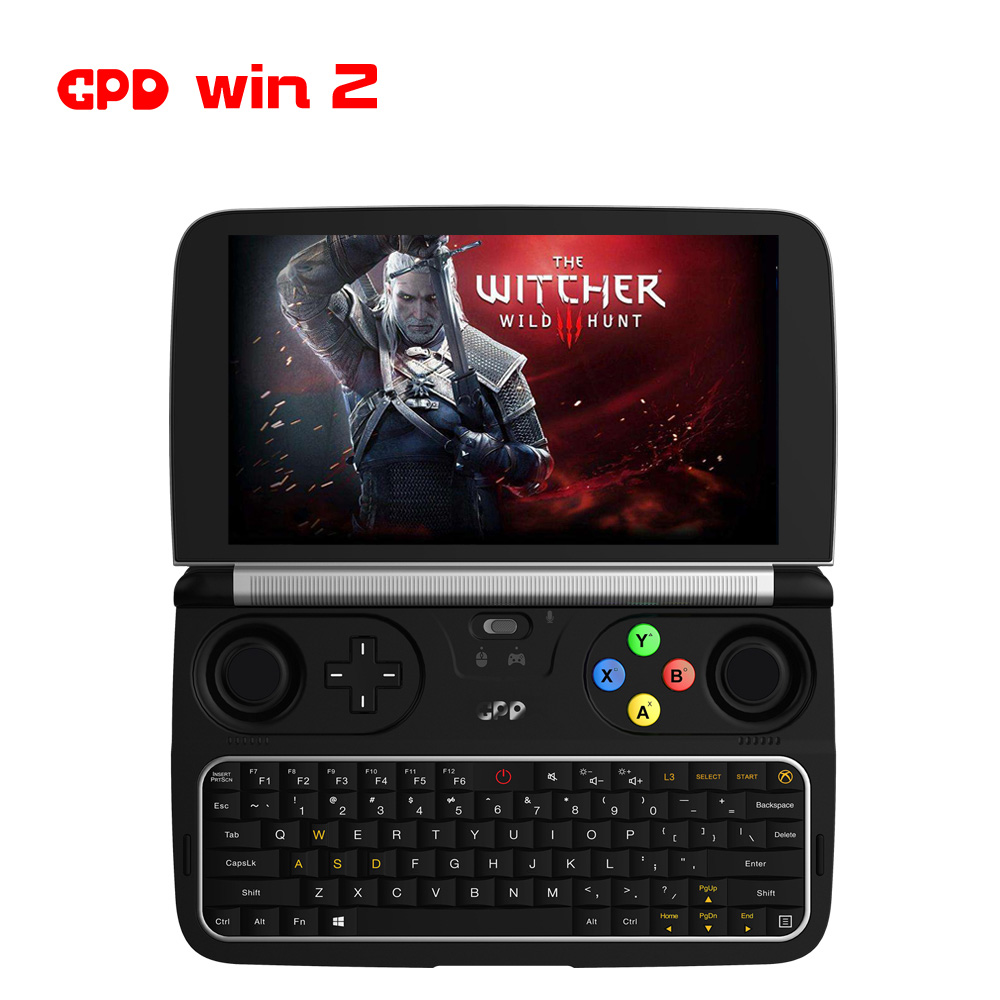 New Arrival GPD WIN 2 Laptop 8GB 256GB Intel M3-8100y 6 Inch Touch Screen Mini Gaming PC Laptop Notebook Windows 10 System
