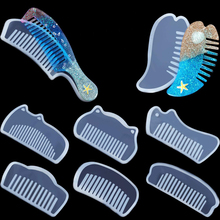 Silicone Comb Mold Resin DIY Casting Mold Jewelry Resin Mould Handcraft Epoxy Resin Mould