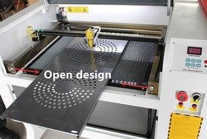 Image 3 - Free shipping 50w 4060 co2 laser engraving machine 220v/100v laser cutter machine laser CNC,High configuration laser engraver