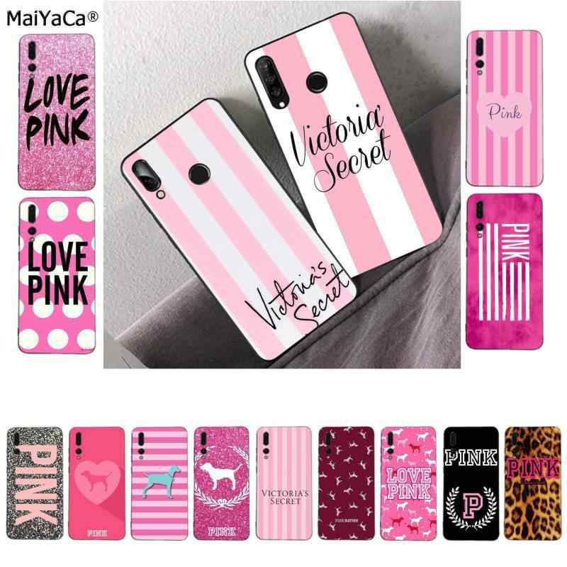 MaiYaCa PINK LOVE PINK DIY Luxury High-end phone Case for Huawei P9 10 lite P20 pro lite P30 pro lite Psmart mate 20 pro lite