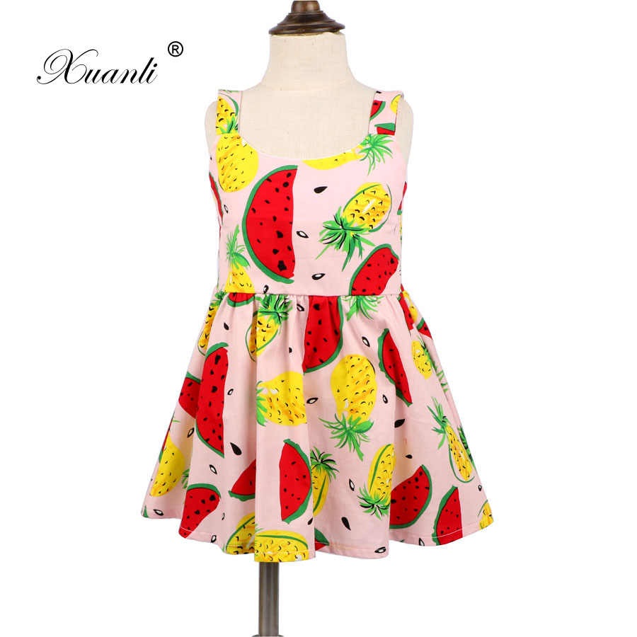 2019 New Baby Dresses Watermelon Design Cartoon Birthday Dress Female Baby Summer Clothes Kids Girl Clothes Girls Dress Aliexpress