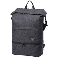 Polyester Backpack Gym Double Shoulder Fashion Dry Wet Separation Outdoor Travel Casual Training Fitness Men Multifunctional