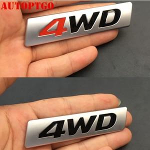 Автомобильная задняя дверь багажника боковая 3D буква 4WD AWD бейджа логотип эмблема брызговик Наклейка для Toyota Subaru Honda Suzuki Volkswagen Jeep Ford