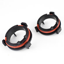 2PCS Car Model LED Headlight Bulbs Holder Adapter Lamp Base H7 Adapter for OPEL Astra G / for Honda CR-V / for Mazda