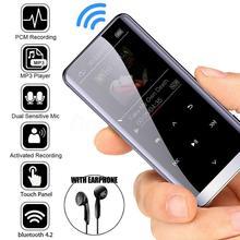 Wireless Bluetooth MP3 Player HIFI Sport Music Speakers Mini MP4 Media FM Radio Recorder Portable Bluetooth MP3 Player