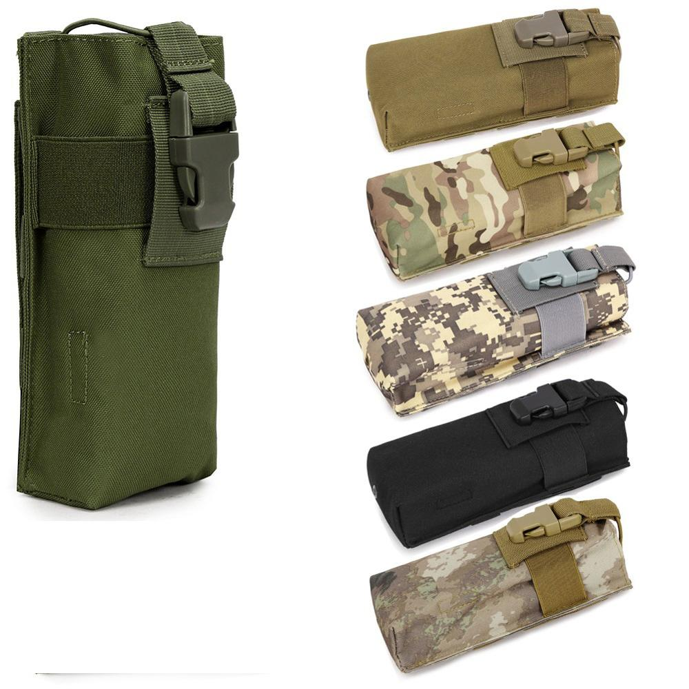 Outdoor Hunting Military Tactical Airsoft Paintball Molle pouch Radio Talkie Water Bottle Bag Pouch