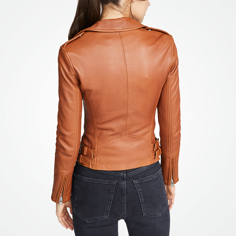 100% Genuine Leather Jacket Women Natural Sheepskin Coat Female Real Leather Montone Jackets Ladies Clothes Hiver 4P53034
