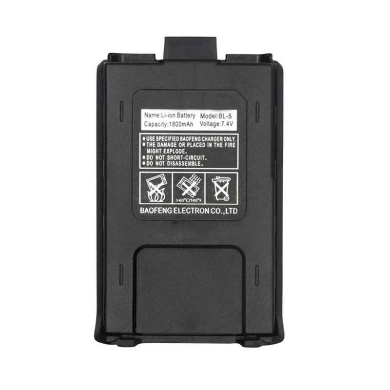 Hot 800mah BL-5 Original Li-Ion Baofeng uv5r Battery For Radio Walkie Talkie Accessories Baofeng UV 5R Uv-5re 5ra Uv 5r Battery