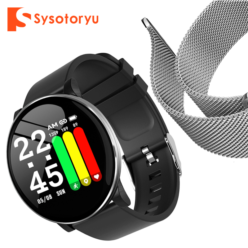 2019 Hot Smart Watch Heart Rate Blood Pressure Smart Watch Men Bluetooth Bracelet Smartwatch Women for Apple IOS Android Phone-in Smart Watches from Consumer Electronics