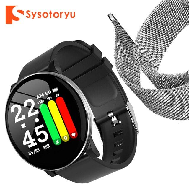 2019 heißer Smart Uhr Herz Rate Blutdruck Smart Uhr Männer Bluetooth Armband Smartwatch Frauen für Apple IOS Android Telefon