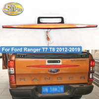 For Ford Ranger T7 T8 2012 2019 raptor Tail Lights tail gate trunk handle cover Rear Brake Dynamic Turn Signal Reflector