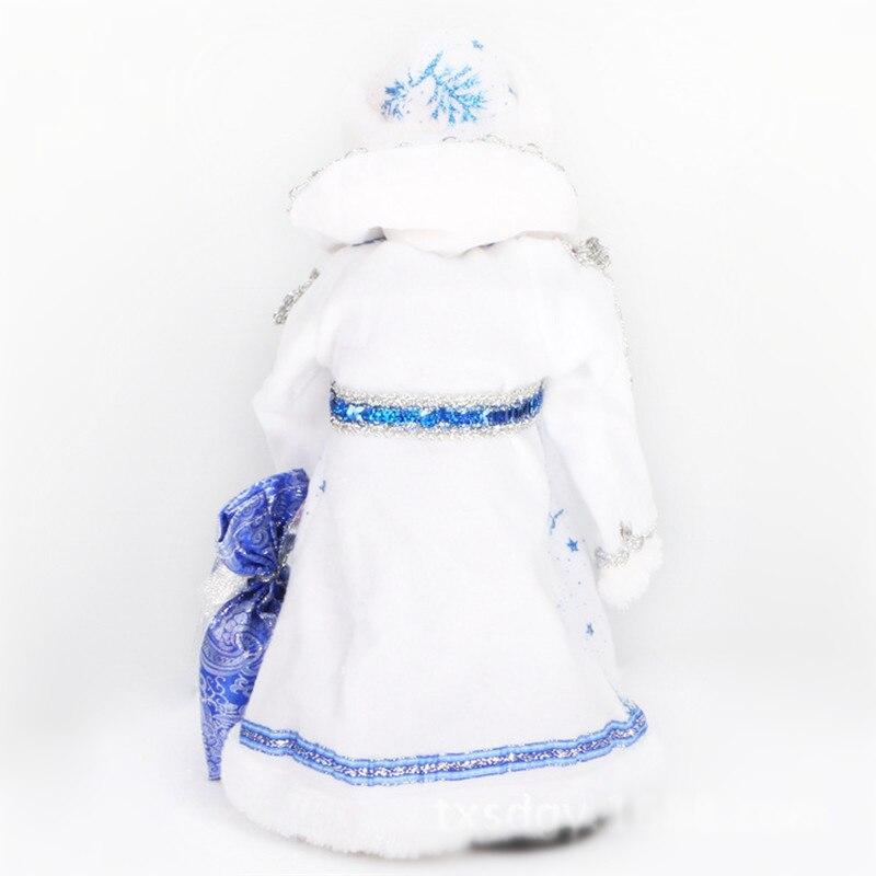decorações brinquedos de natal ded moroz newyear presente
