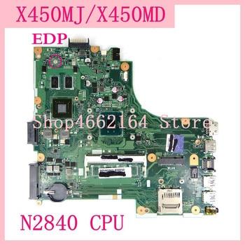 X450MJ Motherboard N2840 CPU For ASUS X450MJ X450M X452M Laptop motherboard X450MJ Mainboard X450MJ Motherboard test 100% OK