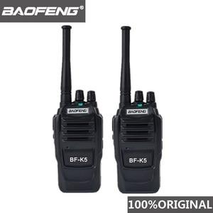 Image 1 - 2 pièces Baofeng K5 jambon Radio talkie walkie 400 470MHz UHF émetteur récepteur 1500mAh 2 voies Radio Amateur Interphone pratique pour la sécurité