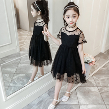 Summer Girl Clothes Kids Dresses For Girls Lace Dot Dress Baby Girl Party Wedding Dress Children Girl Princess Dress 3-10 Years summer girl clothes kids dresses for girls lace flower dress baby girl party wedding dress children girl princess dress clothing