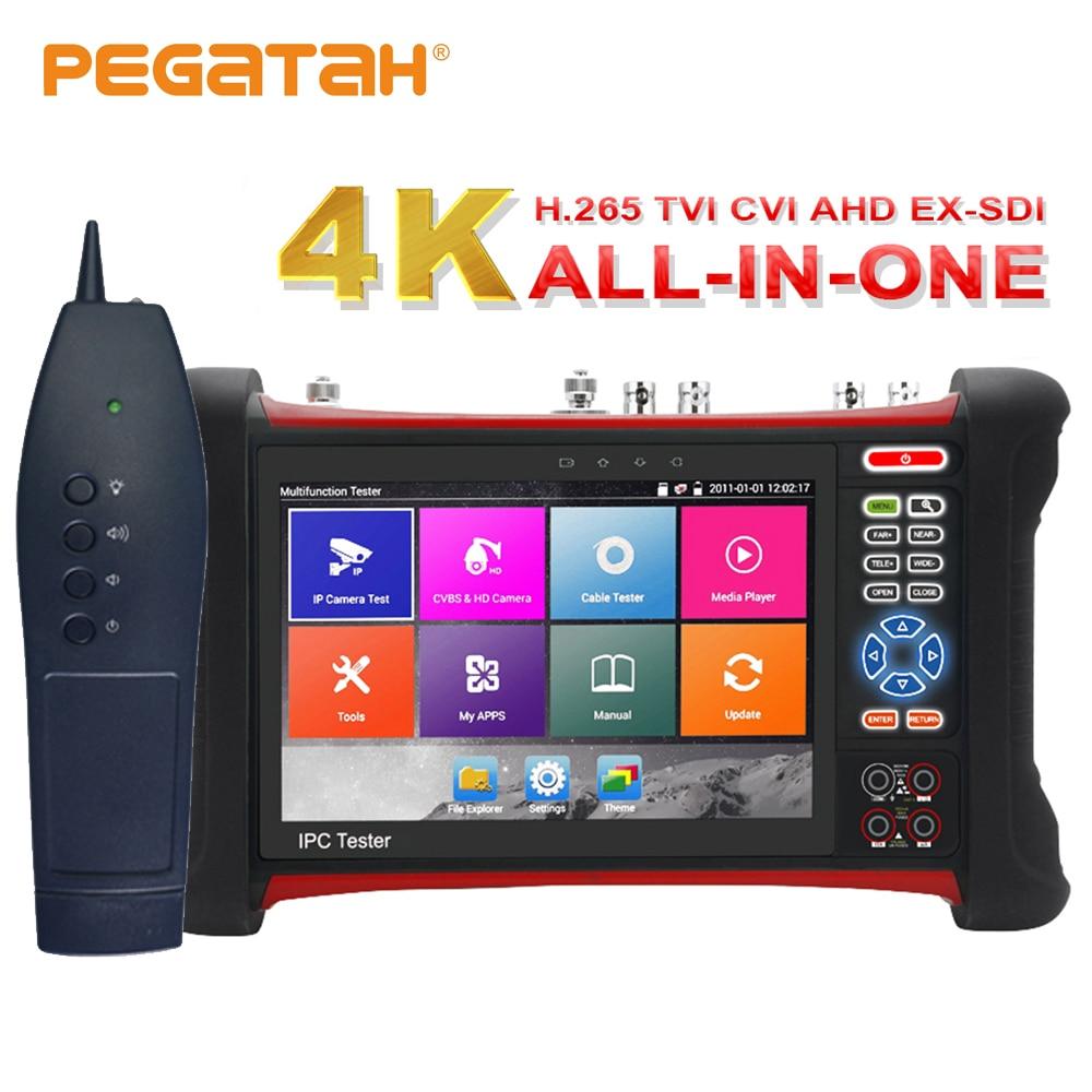 H.265 cctv ip Kameratester 4K 8MP ipc tester cctv TVI CVI AHD SDI - Sikkerhet og beskyttelse - Bilde 1