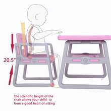Kids Table and Chairs Set - Toddler Activity Chair Reading 2