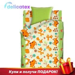 Bettwäsche Sets Delicatex 8741 Lisyata Home Textil bettwäsche leinen Kissen Abdeckungen Bettbezug Рillowcase baby stoßstangen sets für kinder baumwolle