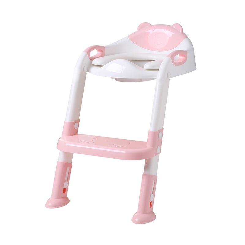 Comfort Convenience Baby Child Potty Toilet Trainer Seat Step Stool Ladder Adjustable Training Chair Echelle Pot Siege Toilette