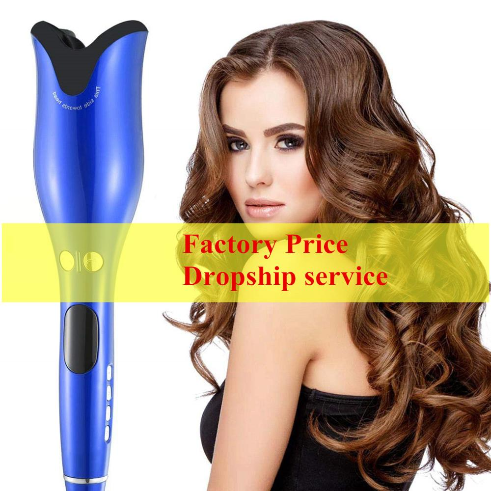 Curling Irons Automatic Titanium Hair Curler Rotating Air Curler For Styling Tools Rotate Hair Curling Iron Hair Waver