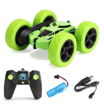 JTY Toys RC Stunt Car High Speed Tumbling Crawler Vehicle 360 Degree Flips Double Sided Driving Radio Controlled Cars Toy RC Car